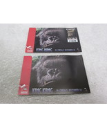 New Zealand Rare Pair (2) King Kong Promotional Postcards w/stamp attached - $14.50