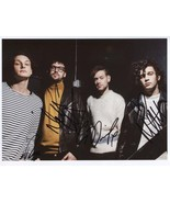 The 1975 (Band) Matt Healey FULLY SIGNED Photo + COA Lifetime Guarantee - €84,90 EUR