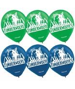 Minnesota Timberwolves NBA Basketball Sports Party Decoration Latex Ball... - $6.17