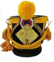 NEW YEAR GIFT France Tschako Pick Hood Shako Napoleon Waterloo Infantry ... - $203.50