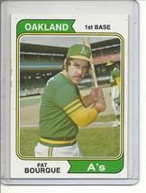 (b-30) 1974 Topps #141: Pat Bourque - $0.75