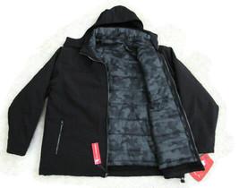NEW BALANCE Men's Black 3in1 Zip Out System SoftShell Jacket Sz 2XL #NBM... - $139.99