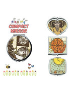 Vintage Tarot card makeup mirror compact mirror purse mirror travel mirror - $11.99