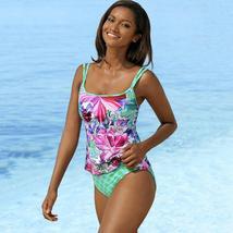 Women Strappy Tankini Swimsuit Swimwear Ladies Bikini Beachwear Swimming Costume image 8