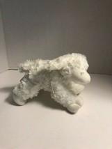 "WINKY the Lamb Baby Gund 8"" Plush rattle toy stuffed animal white - $6.92"