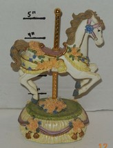 Melodies County Fair Collection Over The Rainbow Heritage House Horse Fi... - $23.38
