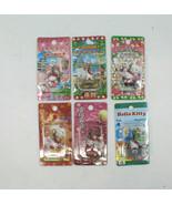 Sanrio Hello Kitty Charm Strap Gotochi Kyoto Oita Hiroshima Japan Set of... - $37.77