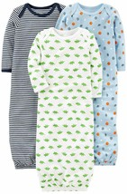 Simple Joys by Carter's Baby Boys' 3-Pack Cotton Sleeper   (Select, Blue... - $26.17