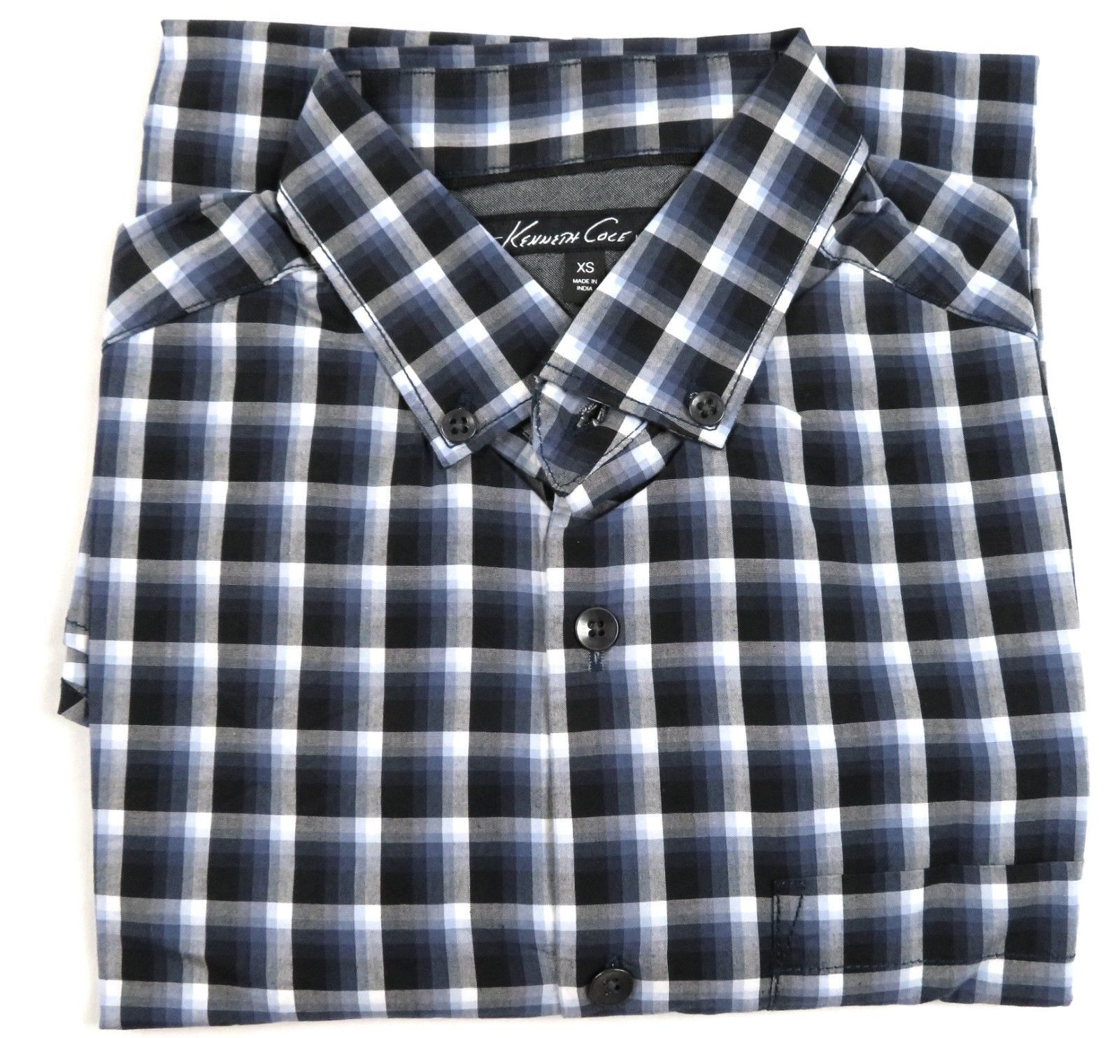 Kenneth Cole New York Shirt Men's Long Sleeve Button-down #30