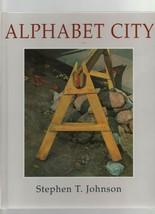 Alphabet City - Stephen T. Johnson - HC - 1995 - Viking Press - 0670856512. - $26.99