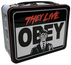 Factory Entertainment They Live Obey Tin Tote Lunchbox - $20.99