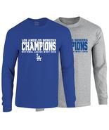 Los Angeles Dodgers 2018 National League West Champions Long Sleeve T-Shirt - $25.99+