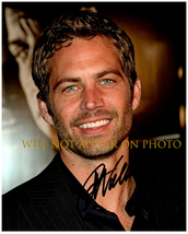 Paul Walker Signed Autographed 8X10 Photo w/ Certificate Of Authenticity 702 - $125.00