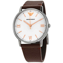 Emporio Armani Men's Watch AR11173 41mm White Dial - $108.59