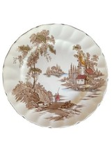 "Johnson Bro The Old Mill Dinner Plate 10"" England Genuine Hand Engraving... - $24.50"