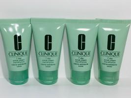 4pc CLINIQUE 7 Day Scrub Cream Cleanser 1fl.oz each (Total 4oz) Exp.2021 - $10.99