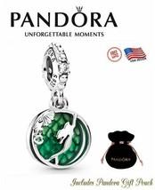 Authentic S925 Ale Sterling Silver PANDORA Disney Ariel Dangle Charm CZ 798231CZ - $25.23