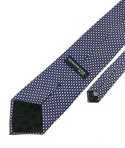 New Kenneth Cole New York Tie Navy Silk Men's Neck Tie - $13.95
