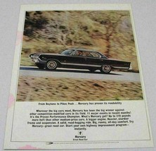 1964 Print Ad Mercury Marauder 4-Door Daytona to Pikes Peak - $13.96