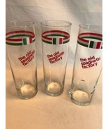 Vintage The Old Spaghetti Factory Italian Soda Glasses Set of 3 12oz Min... - $18.53