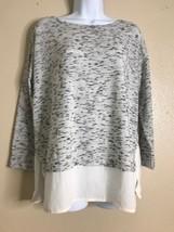 Ann Taylor Loft Women Size S 2Fer Shirt Long Sleeve Round Neck - $10.93