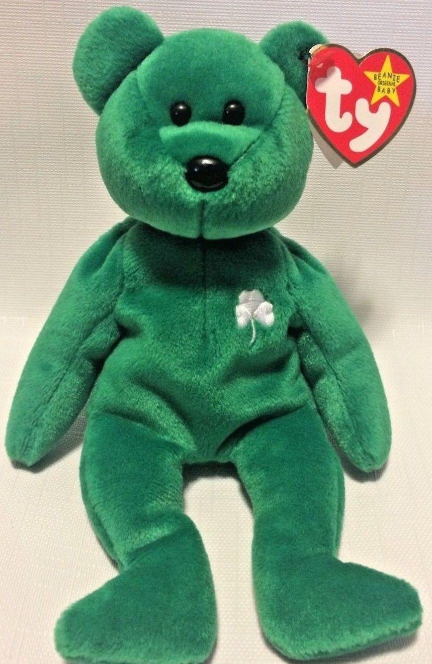 1231192e78b Ty Beanie Baby Erin The Bear 1997 PE PELLETS and 50 similar items. S l1600