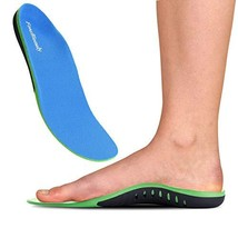 FonsBleaudy Orthotic Inserts with Arch Support - Best Shock Absorption & Cushion