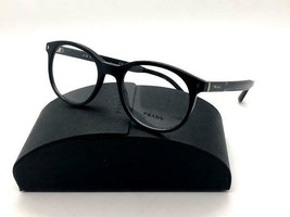 Prada Women's Black Glasses with case VPR 14T 1AB-1O1 50mm  - $96.97