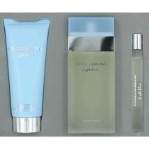 Dolce & Gabbana Light Blue Perfume 3 Pcs Gift Set image 1