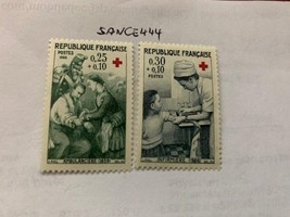 France Red Cross 1966 mnh     stamps - $1.30