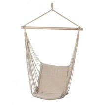 Hammock Chair Garden Porch Tree Hanging Padded Swing - New - $30.38