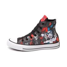 Neuf Imprimé Converse Harley Quinn Tout Étoile Chuck Tailleur Diamant Chaussures - $250.00