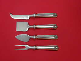 Fiddle Shell by Frank Smith Sterling Cheese Serving Set 4pc HHWS  Custom - $247.10