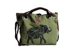 "Pine Creek x17"" x5"" Elephant Grommet Bag, 15"" x 17"" x 5"" - $118.75"