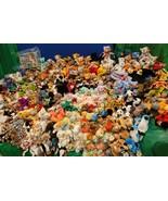 Mega Lot 605 Ty Retired Original Beanie Babies Assorted Animals Errors R... - $1,831.49