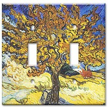 Art Plates - Van Gogh: Mulberry Tree Switch Plate - Double Toggle - $16.21