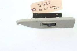 2003-2004 Infiniti G35 Sedan Rear Driver Left Window Switch J5271 - $39.19