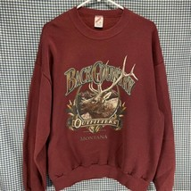 Vintage Made in USA Jerzees Back County Outfitters Montana Sweatshirt Sz XL - $19.79