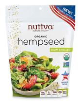Nutiva Organic Raw Us Grown Shelled Hempseed, 10-Ounce - $22.63