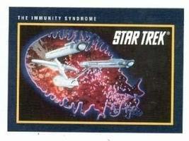 Star Trek card #171 Immunity Syndrome - $3.00
