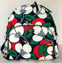 New Kate Spade New York Dawn medium Backpack handbag Nylon Floral multi - $104.00