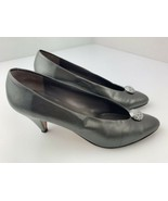 Sesto Meucci Silver High Heels Women's Shoes Size 8 N - $19.79