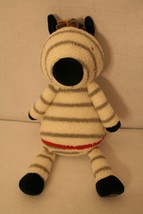 """HALLMARK ZEBRA There For You Crew Just Be You 14"""" Plush Stuffed Animal Toy - $74.95"""