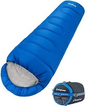 KingCamp XL Mummy Sleeping Bag with Compression Sack, -13℃/8.6℉ Double L... - £51.29 GBP