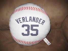 JUSTIN VERLANDER PLUSH BALL Brand New 2013 MLB Licensed Detroit Tigers s... - $7.99