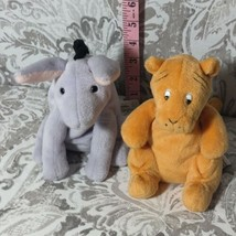Disney Gund Classic Winnie the Pooh Eeyore and Tigger Stuffed Animal Lot of 2 - $23.75