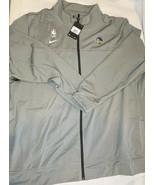 Nike Golden State Warriors team NBA jacket Size 4XL-Tall grey new av1655... - $73.40