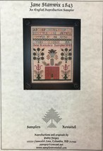 Samplers Revisited Counted Cross Stitch Patterns Historic Reproduction S... - $7.55+