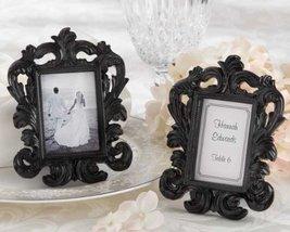 Black Baroque' Elegant Place Card Holder/Photo Frame - Total 48 sets - $88.38