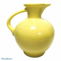 Fiesta Carafe Yellow Beverage Pitcher Contemporary Post 86 Homer Laughli... - $69.99